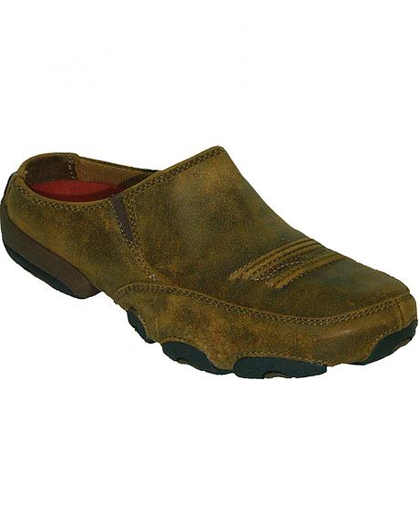 Twisted X Driving Mule Slide Shoes - Round Toe