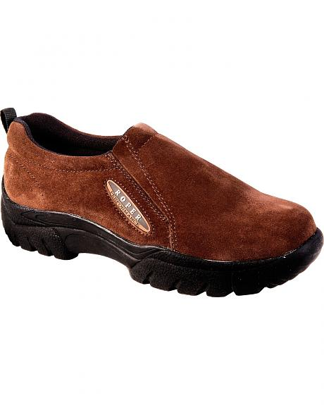 Roper Women's Performance Sport Slip-On Shoes - Round Toe