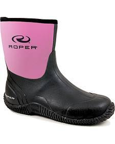 Roper Neoprene Barnyard Boots