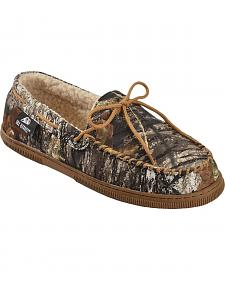 Double Barrel Men's Camouflage Moccasins