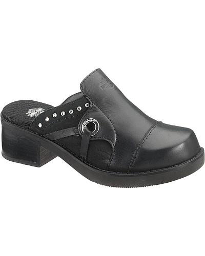 Harley Davidson Lindy Clogs Western & Country D83667