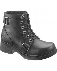 Harley Davidson Celia Motorcycle Boots - Round Toe