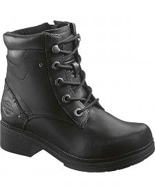 Harley Davidson Elowen Lace-Up Boots