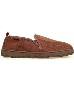 Double Barrel Fleece Lined Slippers