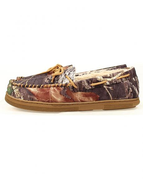 Double Barrel Youth Boys' Camo Moccasins