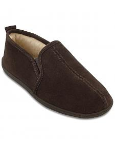 Minnetonka Men's Pile Lined Romeo Slippers