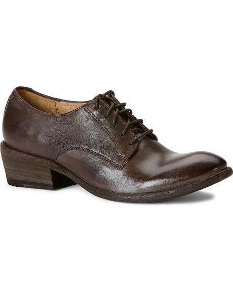 Frye Women's Carson Oxford Shoes - Round Toe