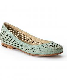 Frye Women's Carson Perforated Ballet Flats - Round Toe