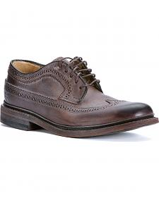 Frye Women's James Wingtip Shoes - Round Toe