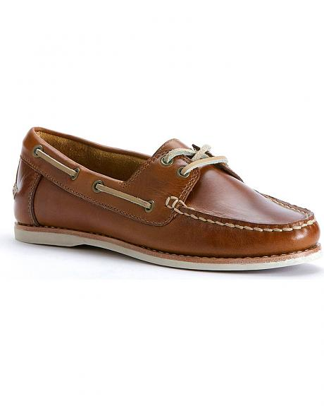 Frye Women's Quincy Boat Shoes - Round Toe