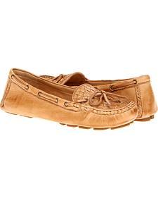 Frye Women's Reagan Woven Shoes - Round Toe