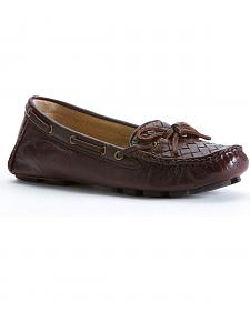 Frye Women's Reagan Woven Shoes - Round Toe