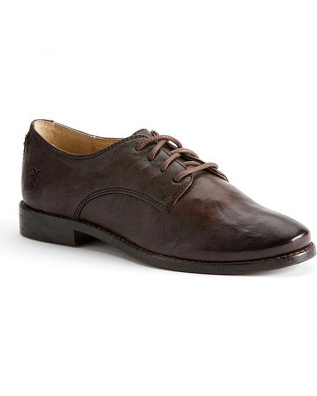 Frye Women's Anna Oxford Shoes - Round Toe