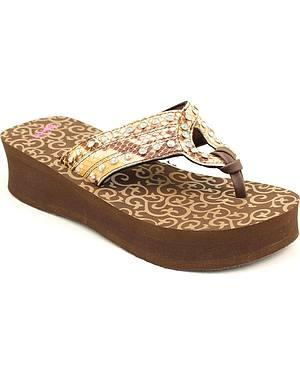 Blazin Roxx Janis Flip Flops