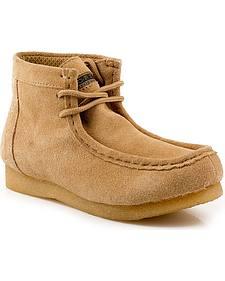 Roper Kids' Casual Moc Toe Chukka Boots