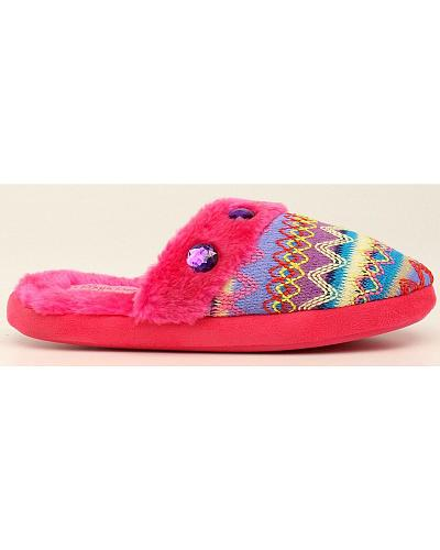 Blazin Roxx Colorful Woven Scuff Slippers Western & Country 5717862