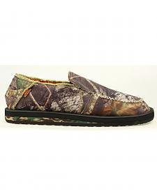Double Barrel Casual Camo Canvas Slip-Ons