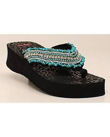 Blazin Roxx Women's Meredith Flip Flops