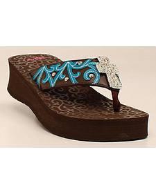 Blazin Roxx Women's Miranda Flip Flops