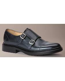 Frye Women's James Lug Double Monk Shoes