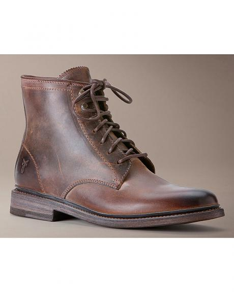 Frye Women's James Lace Up Boots - Round Toe
