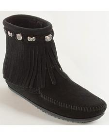 Minnetonka Women's Hello Kitty 40th Anniversary Fringe Boots
