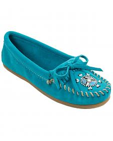 Minnetonka Women's Me To We Moccasins