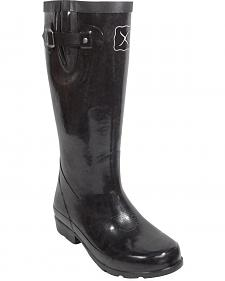 Twisted X Women's Black Mud Boots