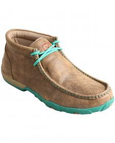 Twisted X  Women's Turquoise Driving Mocs