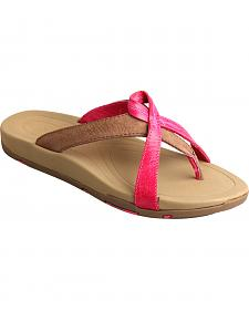 Twisted X Women's Tough Enough to Wear Pink Sandals