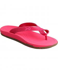 "Twisted X Women's ""Tough Enough to Wear Pink"" Sandals"