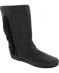 Minnetonka Women's Luna Fringe Boots