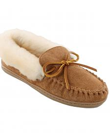 Minnetonka Women's Alpine Sheepskin Moccasins