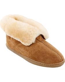Minnetonka Women's Sheepskin Ankle Boots