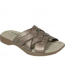Eastland Women's Silver Hazel Sandals