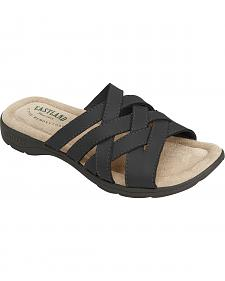 Eastland Women's Black Hazel Sandals