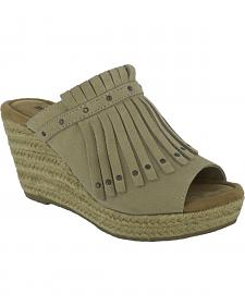 Minnetonka Women's Quinn Wedge Sandals