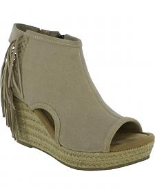 Minnetonka Women's Blaire Wedge Sandals