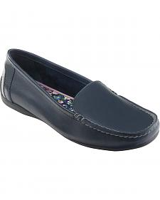Eastland Women's Navy Crystal Slip-On Loafers