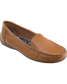 Eastland Women's Wheat Tan Crystal Slip-On Loafers