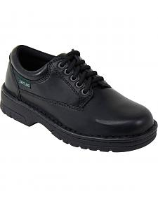 Eastland Women's Black Plainview Oxfords