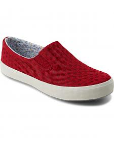 Eastland Women's Burgundy Breezy Slip-On Sneakers
