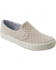 Eastland Women's Ivory Breezy Slip-On Sneakers