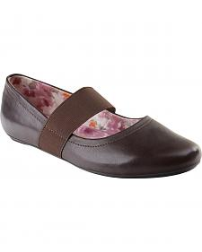 Eastland Women's Brown Sable Mary Jane Slip-On Shoes