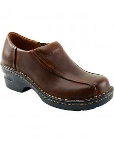 Eastland Women's Brown Tracie Slip-Ons