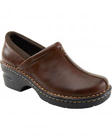 Eastland Women's Brown Kelsey Slip On Clogs