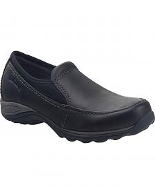Eastland Women's Black Sage Sport Slip-Ons