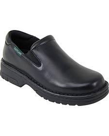 Eastland Women's Black Newport Slip-Ons