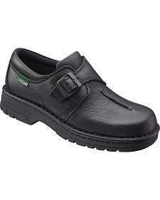 Eastland Women's Black Syracuse Slip-On Shoes