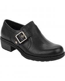 Eastland Women's Black Open Road Slip-Ons